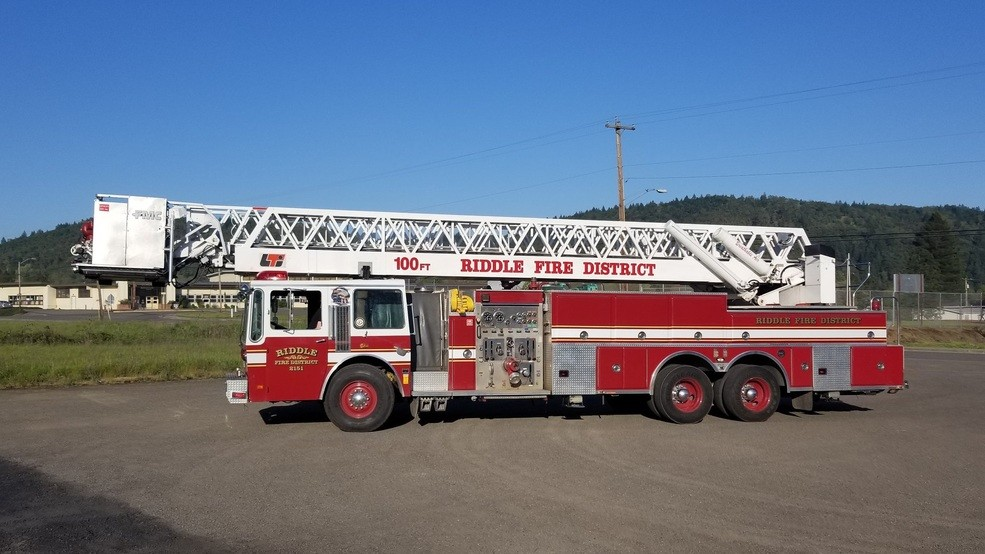 Firefighters Battle 2 Alarm Structure Fire In Riddle Monday Night