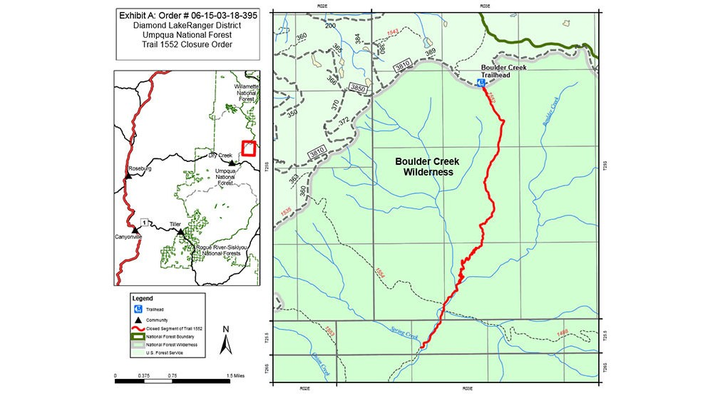 Fire Burning In An Area Of Extreme Risk For Firefighters On Umpqua